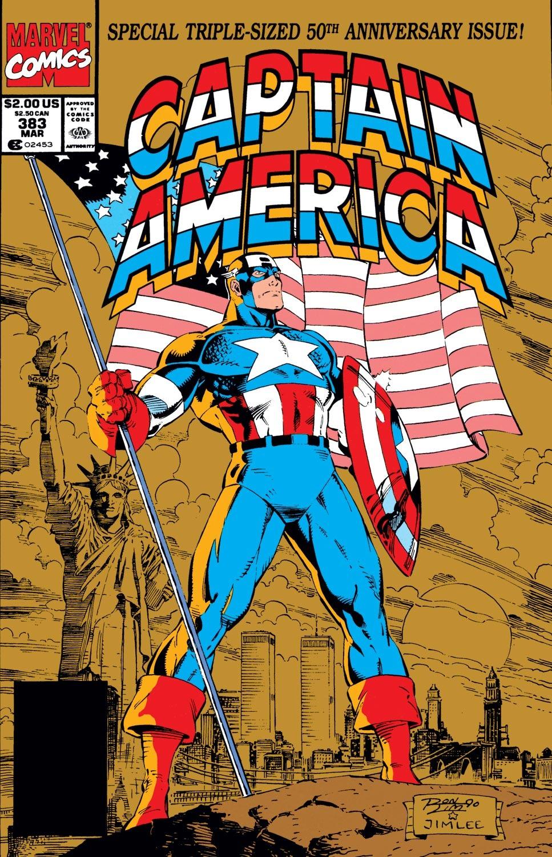 Captain America (1968) Issue #383 #316 - English 1