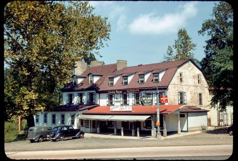 Red Lion Inn   County Line Philadelphia/Bucks County   Bensalem Township    Circa 1940s