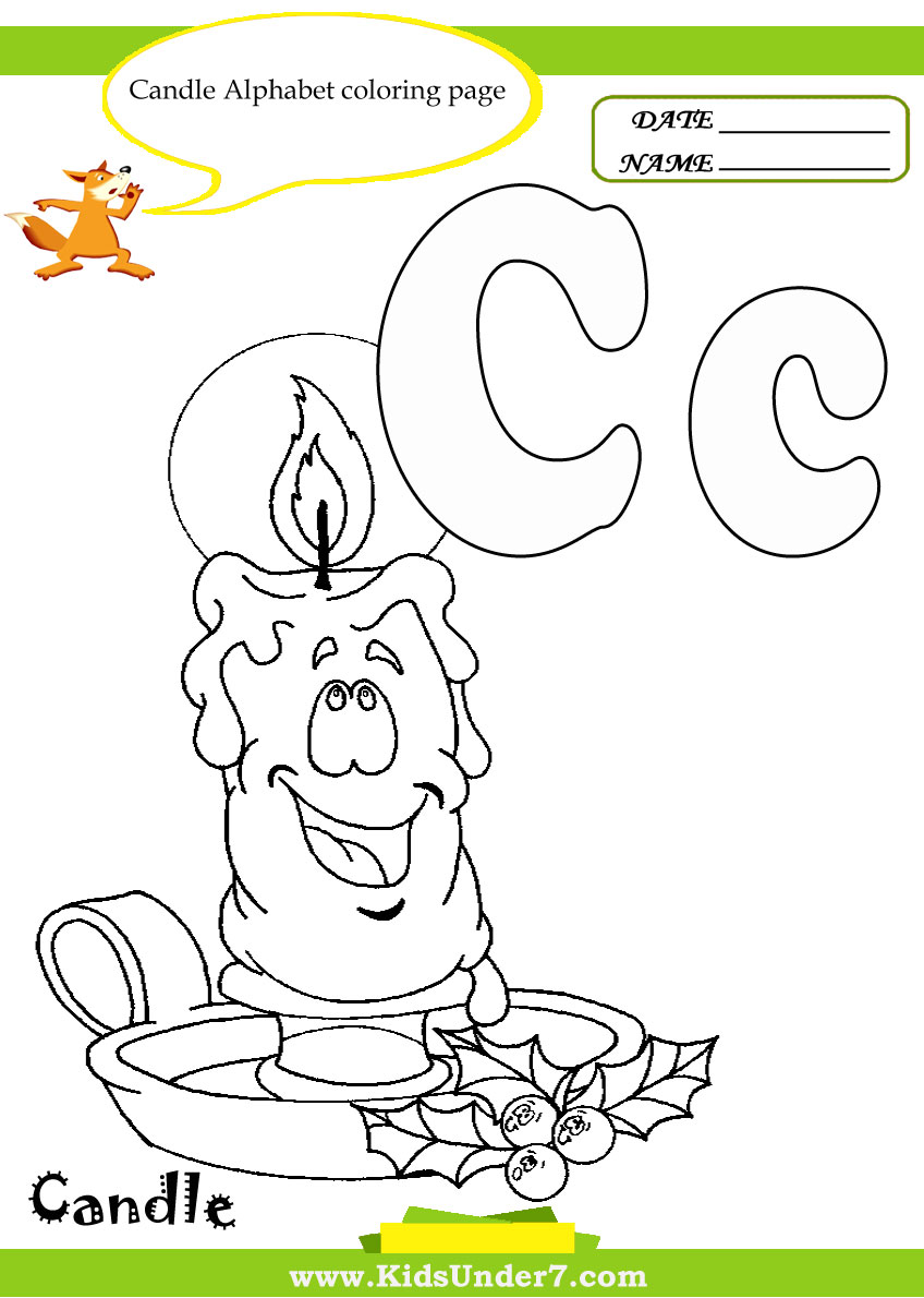 Galerry alphabet letters to coloring pages