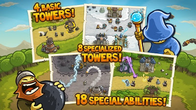 Kingdom Rush v1.9.2 Full Version APK + DATA Android zip market google play