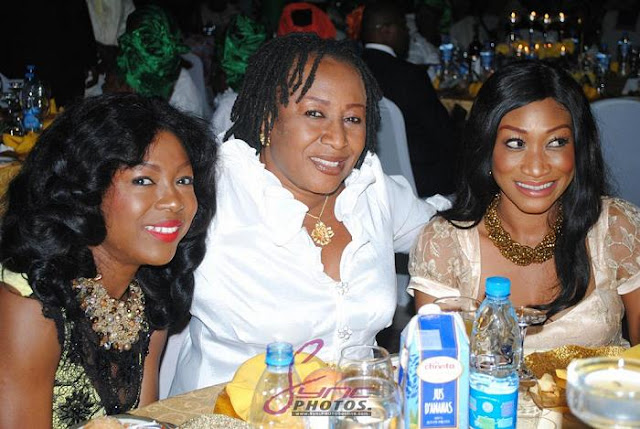 nollywood stars aso rock abuja