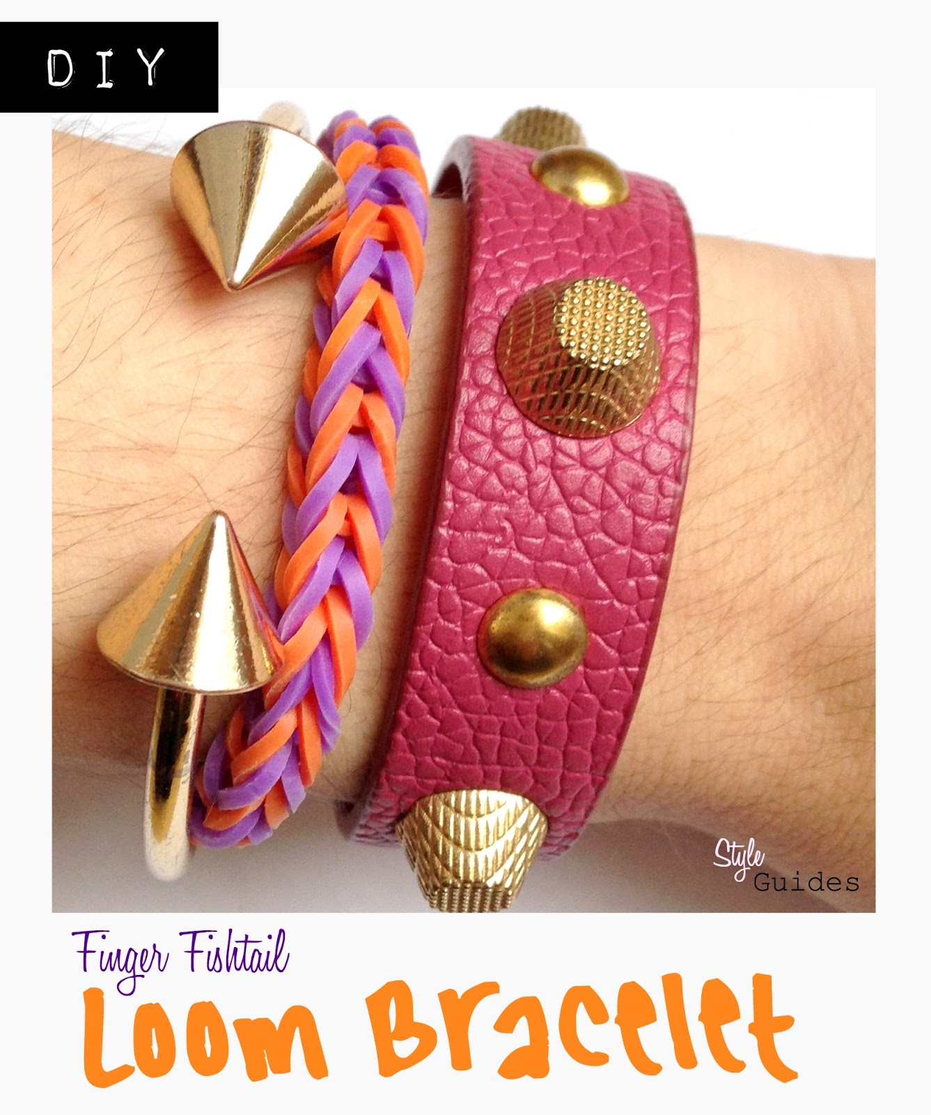 diy loom bracelet fashion