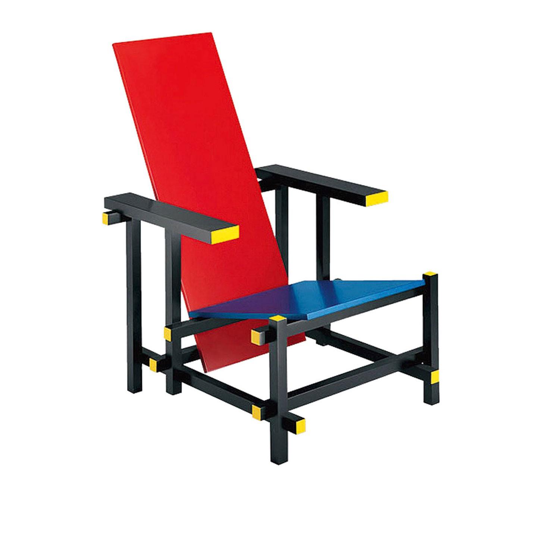 Dos dise os de sillas que marcaron la historia thonet y for Silla roja y azul