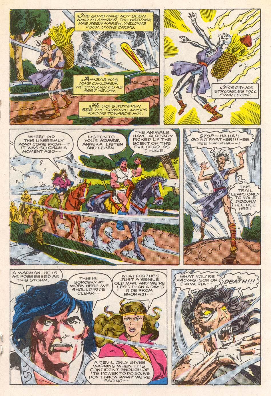 Conan the Barbarian (1970) Issue #193 #205 - English 14