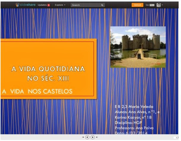 http://www.slideshare.net/AnaPaiva6/trabalho-vida-nos-castelos