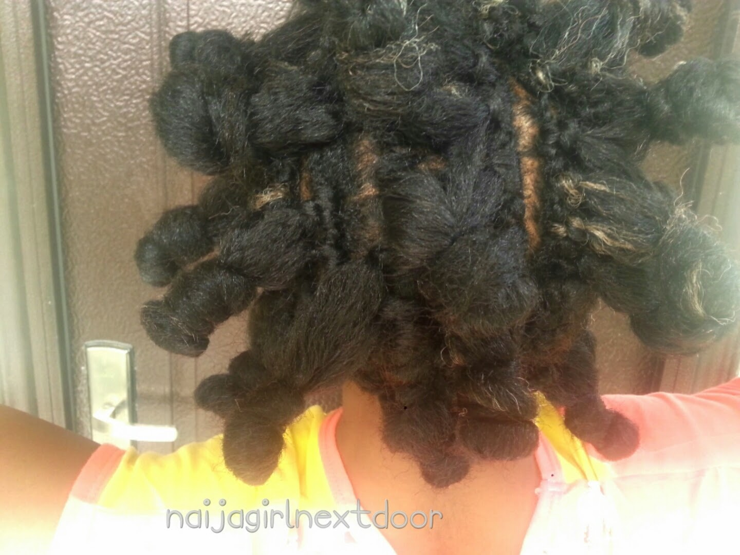 style: Crochet braids with invisible part (no knot) Naija girl ...