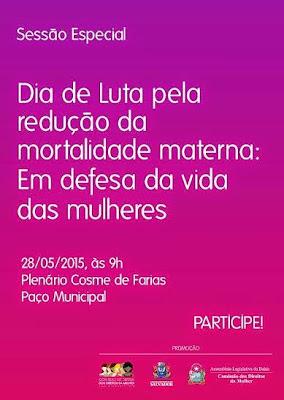 Dia Internacional de Luta Pela Saúde da Mulher