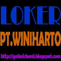 loker lowongan kerja pt winiharto terbaru 2015