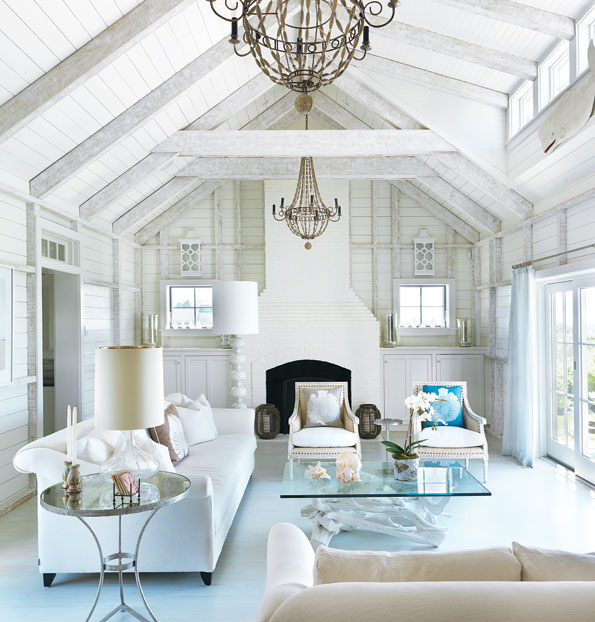 Coastal style shabby chic beach cottage style for Coastal cottage style homes