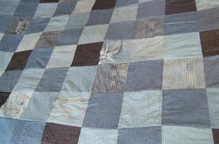 denim jeans quilt