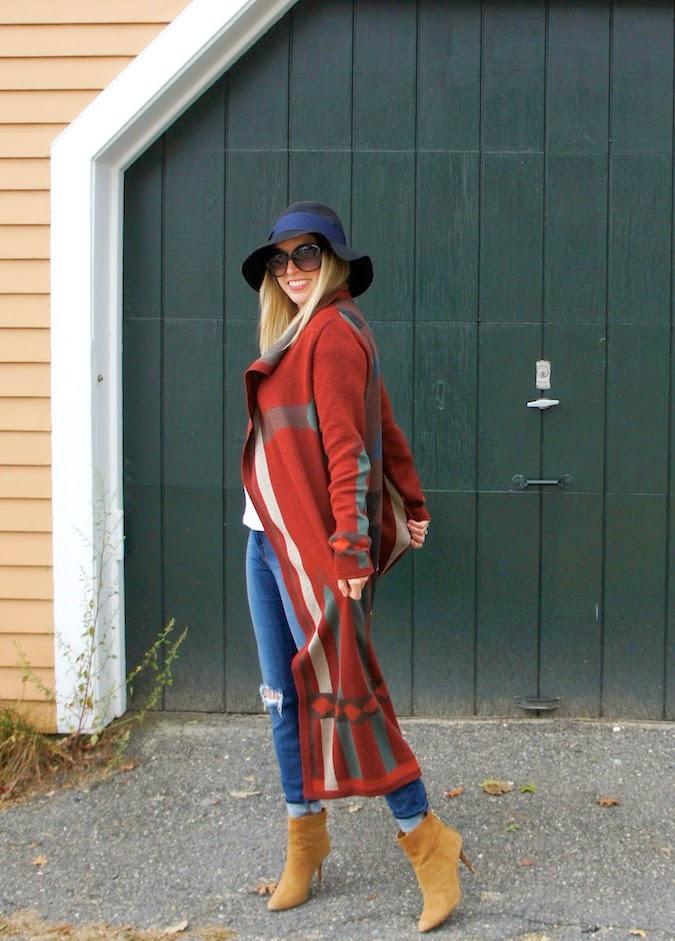 Peruvian Connection sweater coat,boston style blog, fall sweater coats
