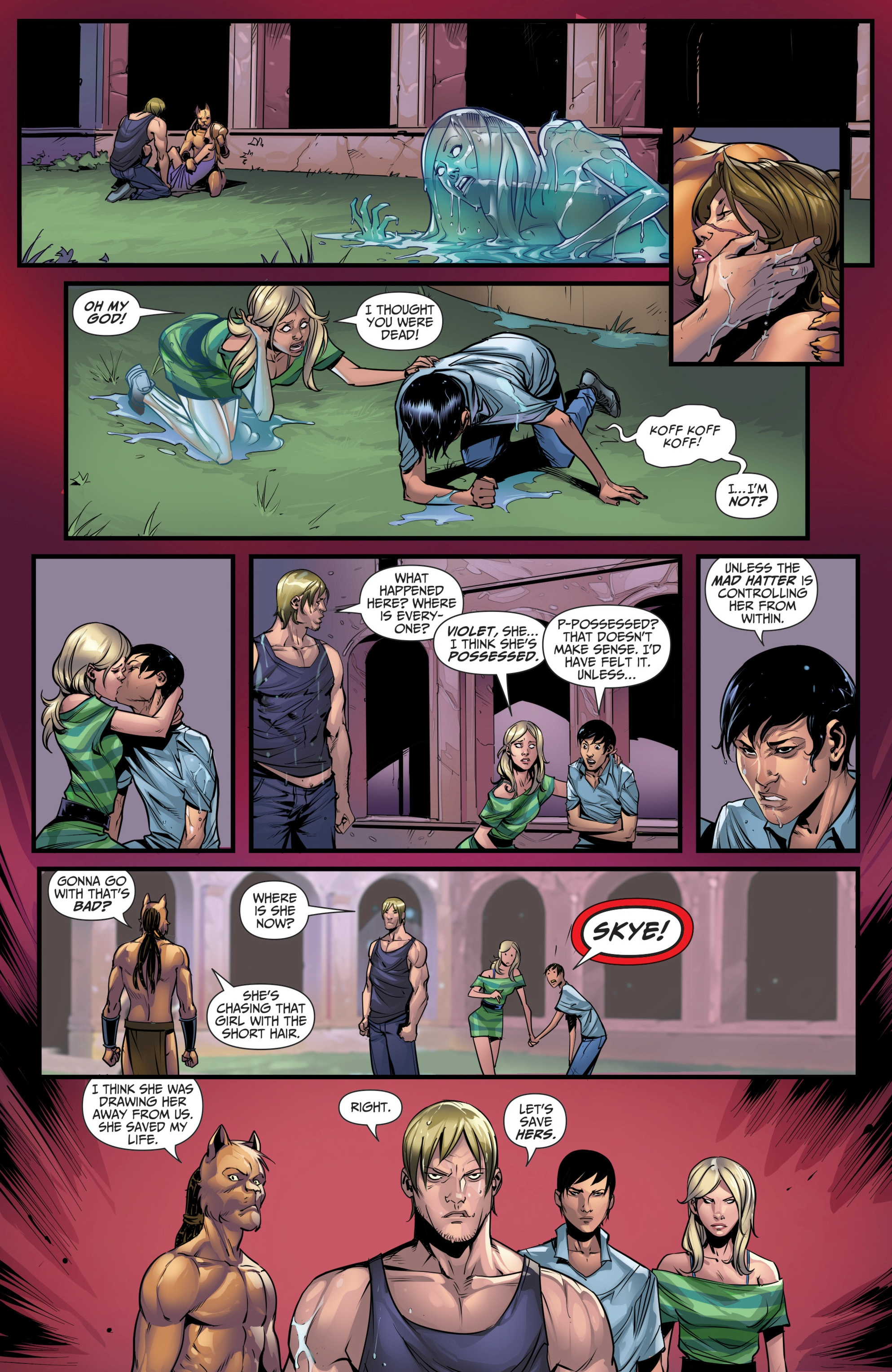 Grimm Fairy Tales (2005) Issue #111 #114 - English 17