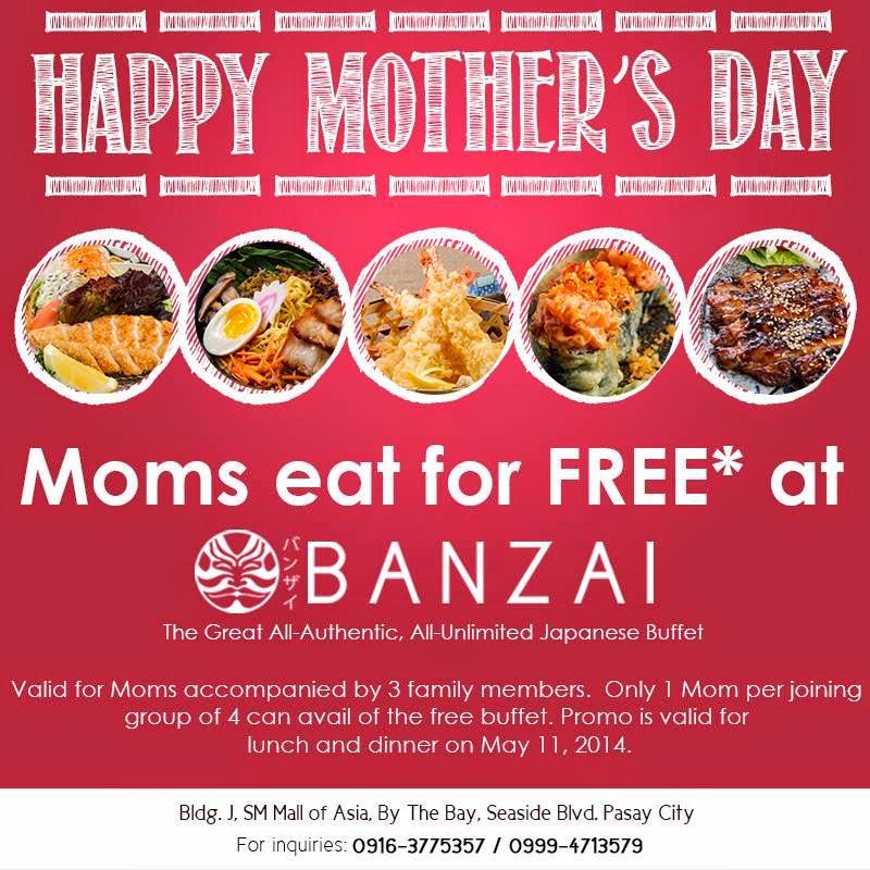 Banzai restaurant coupons