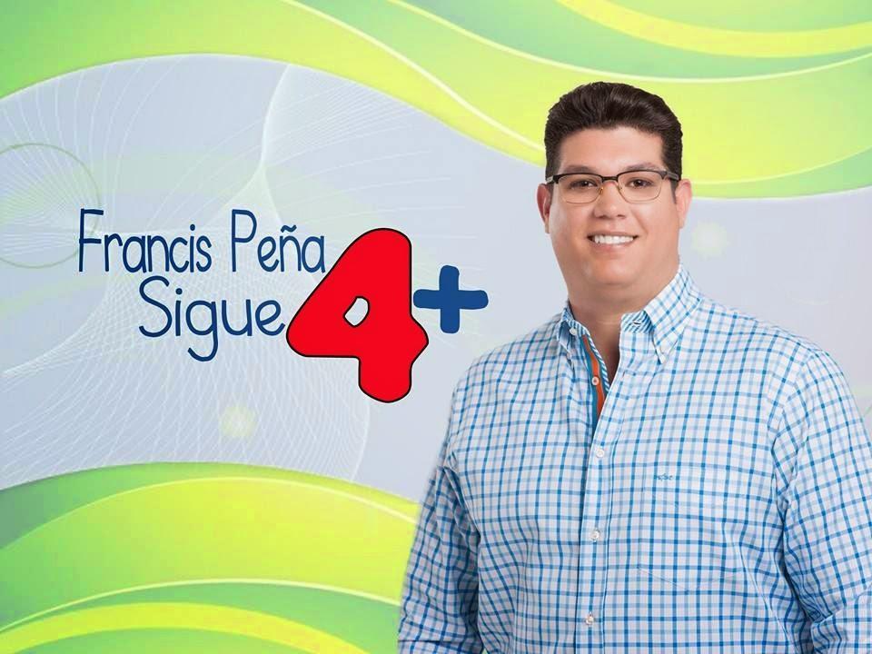 Francis Peña Sigue 4+