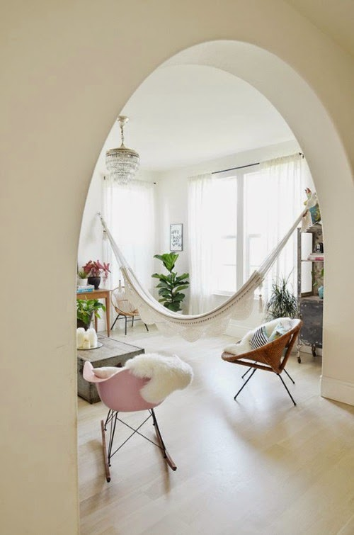 dream home - indoor hammock