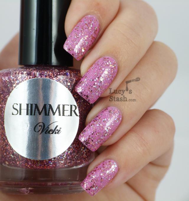 Lucy's Stash - Shimmer Polish Vicki