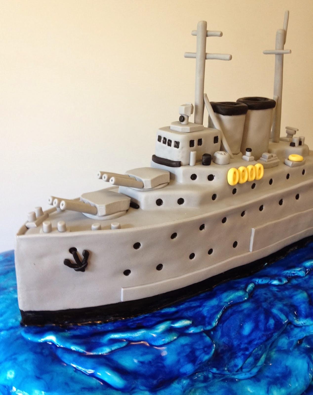 Elaine s Sweet Life: Battle Ship Cake