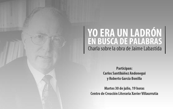 Charla sobre la obra del escritor Jaime Labastida en el CCLXV