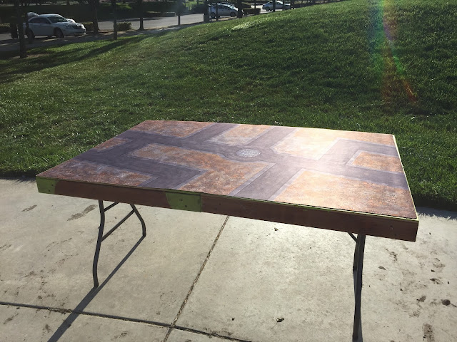 Gaming table; 40K table; Portable 40K table; battle gaming one