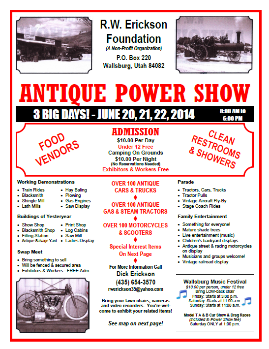Antique Power Show in Wallsburg