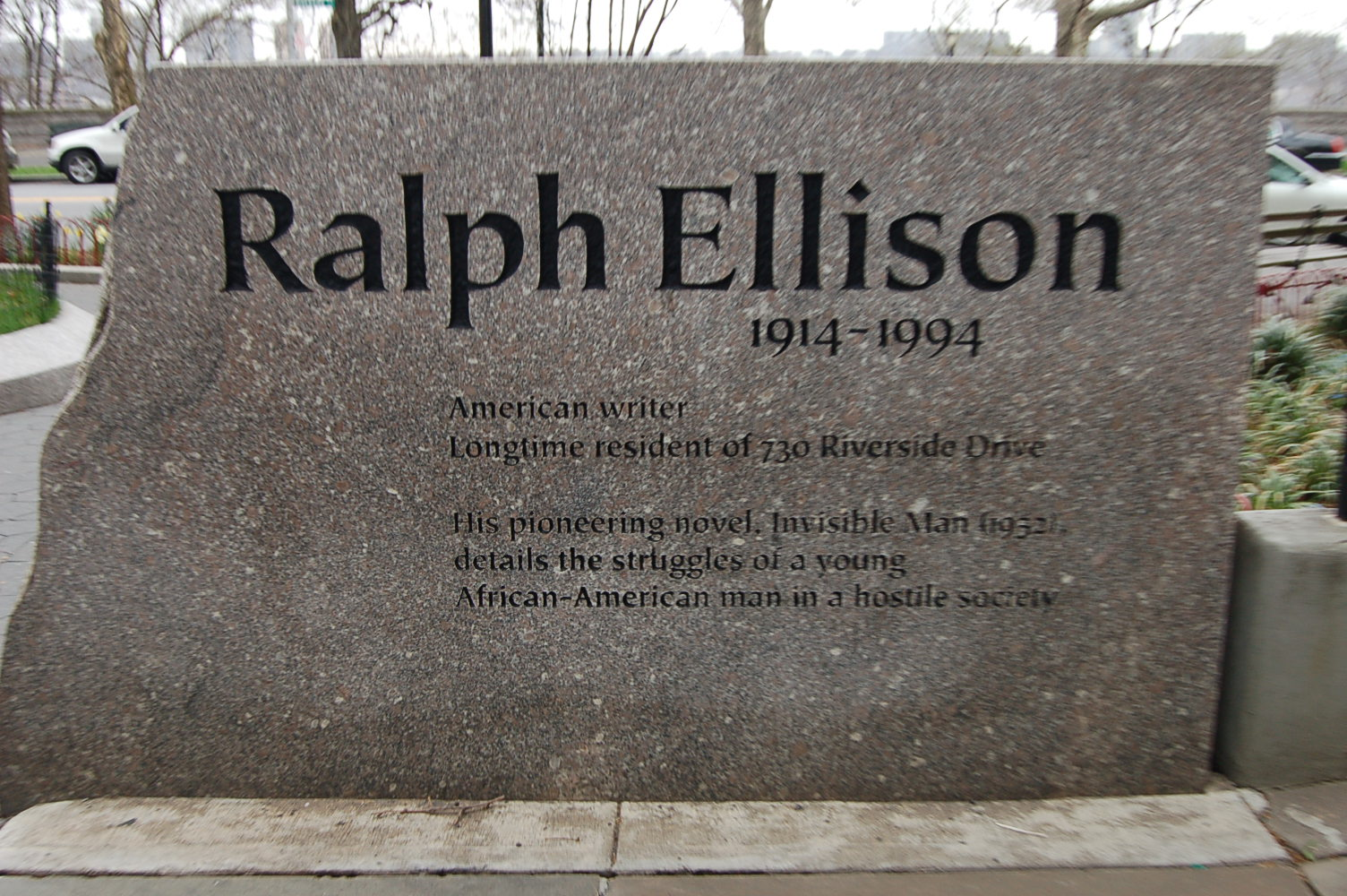 ralph ellison an author study