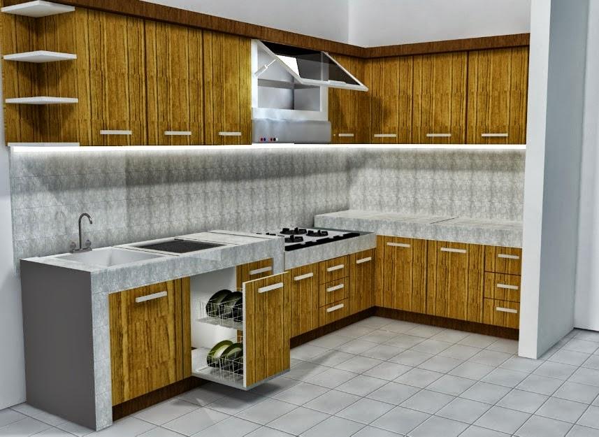 Desain Dapur Minimalis Yang Indah Simpel