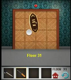 100 floors floor 31 and how to solve level 32