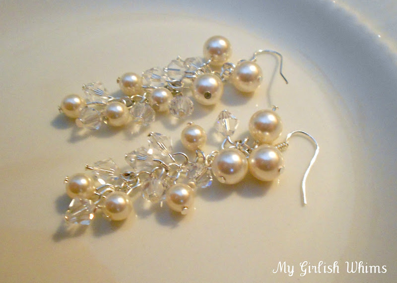 A Very Pretty Pair Of Wedding Earrings If You Ask Me So What Do Think Will Give The Simple Loop Try