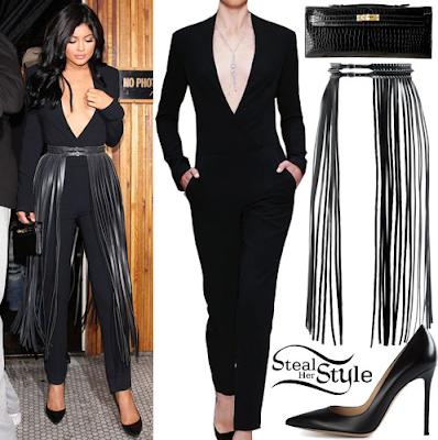 Kylie Jenner in Australian Designer Steven Khalil melbourne couture