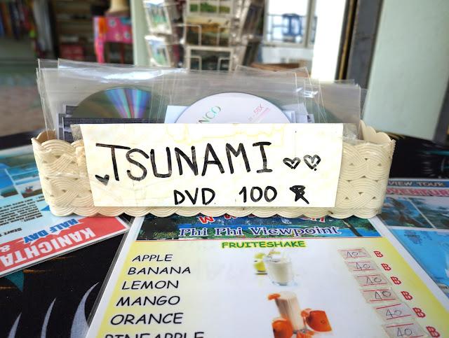 DVD du tsunami à Koh Phi Phi