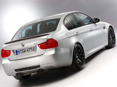 2012 BMW M3 CRT Rear Side