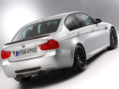 2012 BMW M3 CRT Rear Side