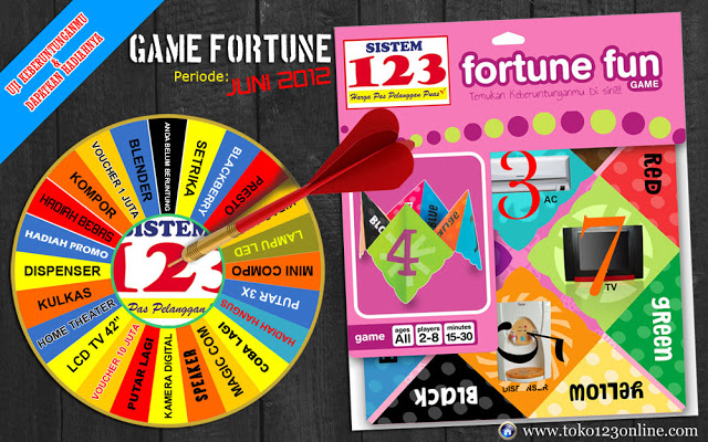 Brosur Game Fortune