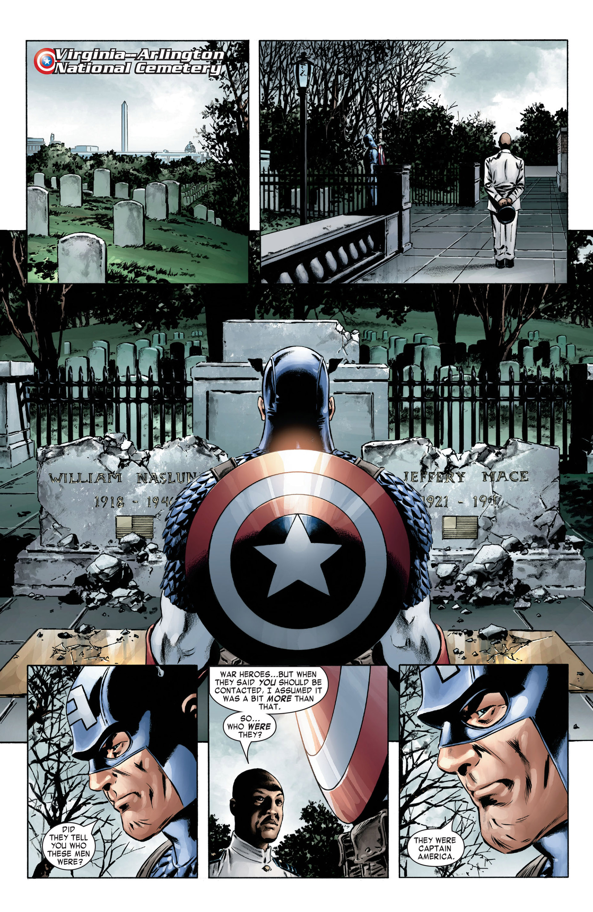 Captain America (2005) Issue #4 #4 - English 8
