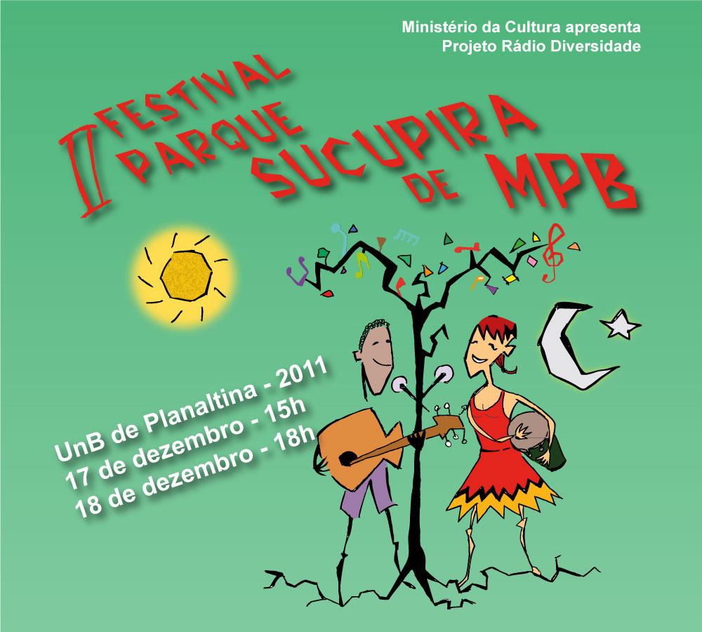 II FESTIVAL PARQUE SUCUPIRA   de Música Popular Brasileira