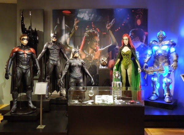 Batman and Robin movie costumes props