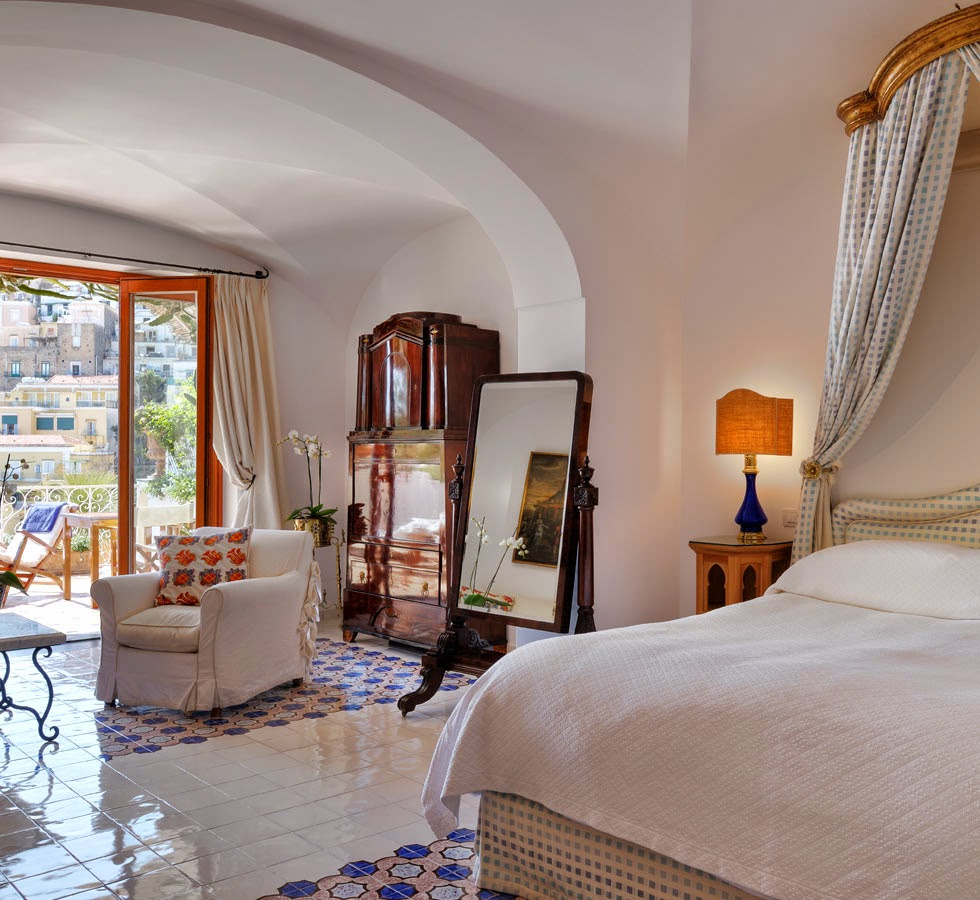 Passion for luxury boutique hotel le sirenuse in positano for Boutique hotels italy