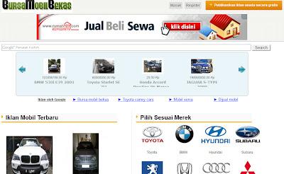 Bursa Mobil Bekas