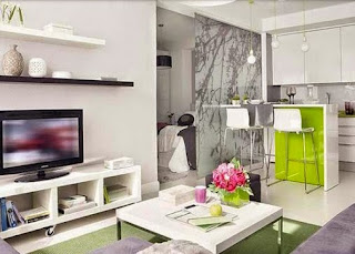 contemporary small apartment interior design