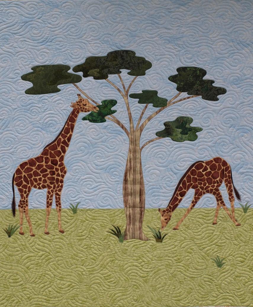 sampaguita quilts giraffe quilt