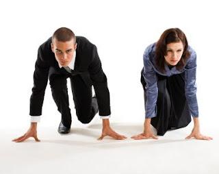 الرجل والمرأة... من منهم يواجه التوتر والضغط العصبى أفضل - رجل ضد يسابق امرأة - man vs woman race running