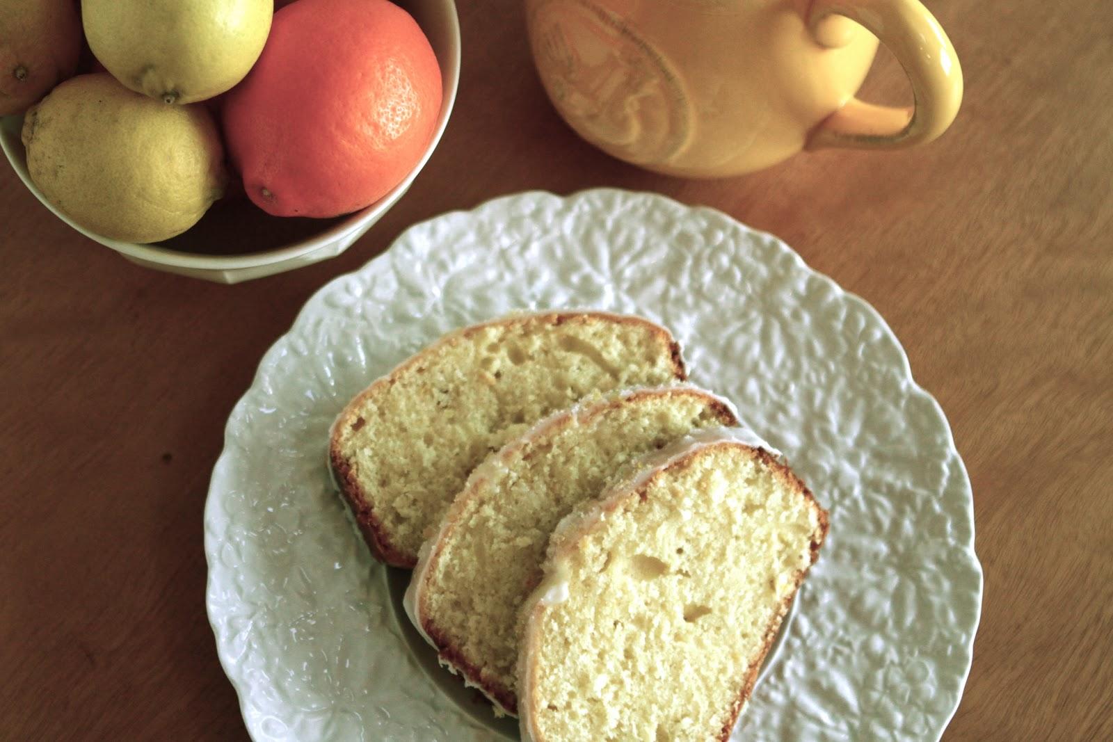 Moist Lemon Bread with Citrus Glaze