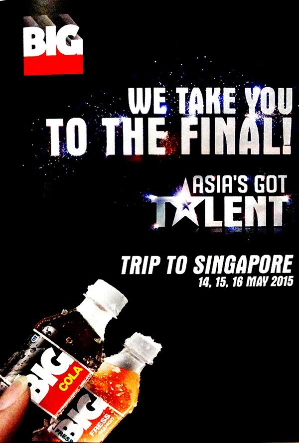 Trip-to-Singapore BIG Cola