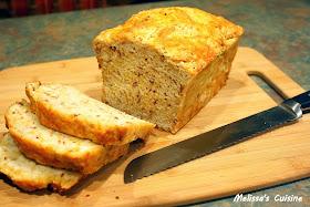 Melissa's Cuisine:  Bacon Cheddar Beer Bread