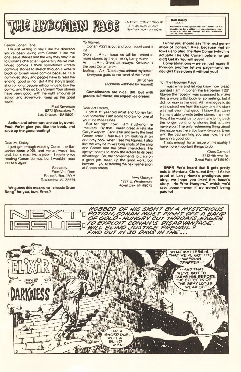 Conan the Barbarian (1970) Issue #224 #236 - English 24