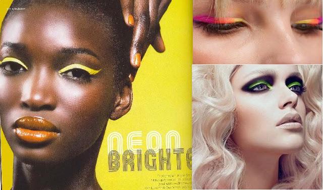 neon, neon make up,