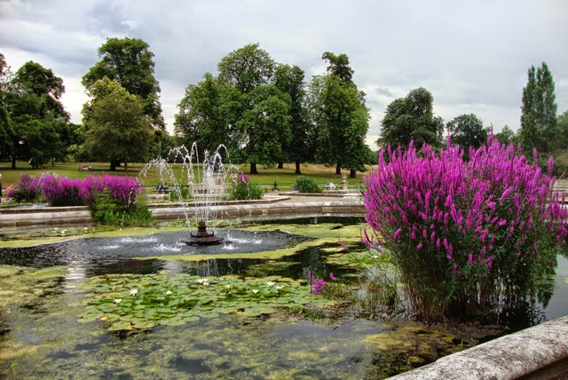 Italian Gardens, Hyde Park