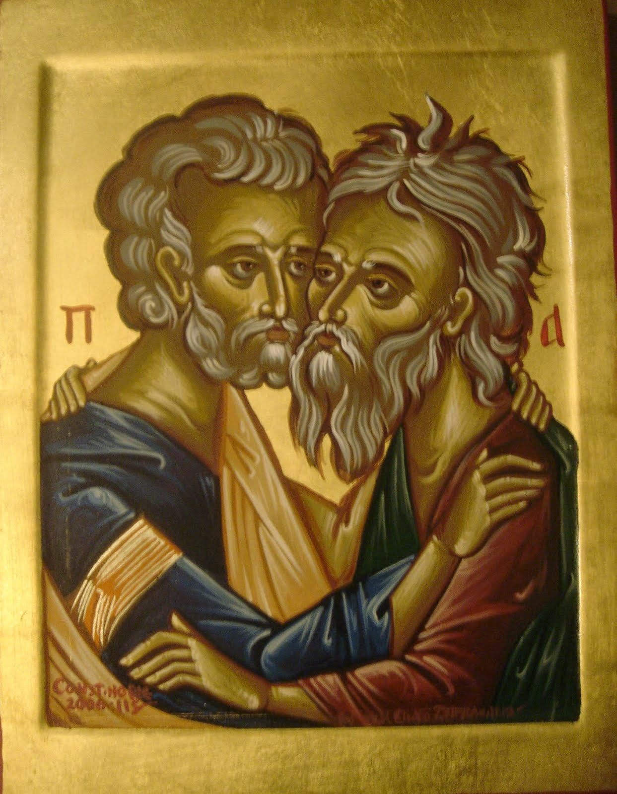 Embrace of Sts. Peter and Andrew
