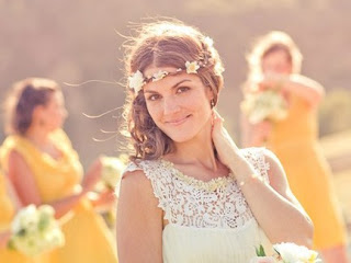 Beyond The Aisle Wedding Style Trend Forehead Bands