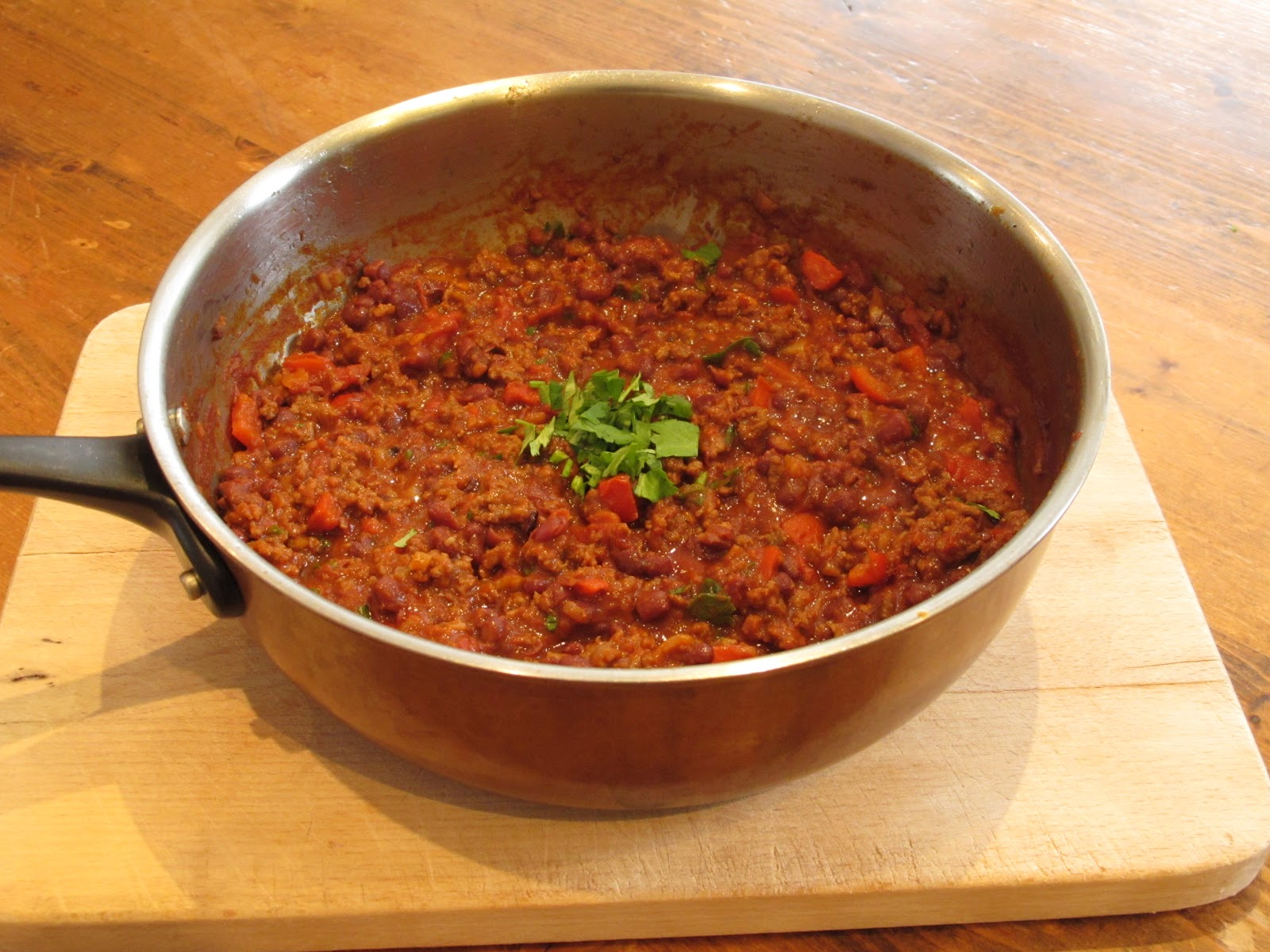 margot 39 s kitchen it s chilli con carne